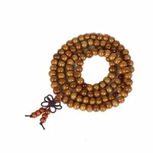 Other - LAST ONE Wooden Prayer Yoga Beads bracelet necklac